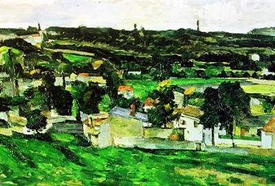 Paul Cézanne, Auvers-sur-Oise